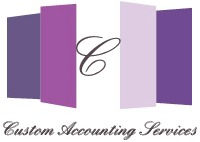 Custom Accounting Services Inc.  Logo